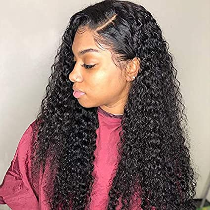 40% off  Curly Human Hair Wigs  10 inch