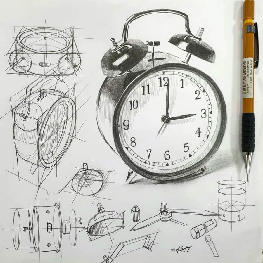07-Alarm-clock-anjjaemi-www-designstack-co