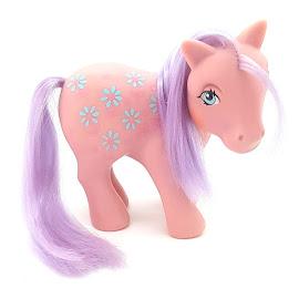 My Little Pony Mamá Ramo de Flor Year Seven Int. Loving Family Ponies G1 Pony