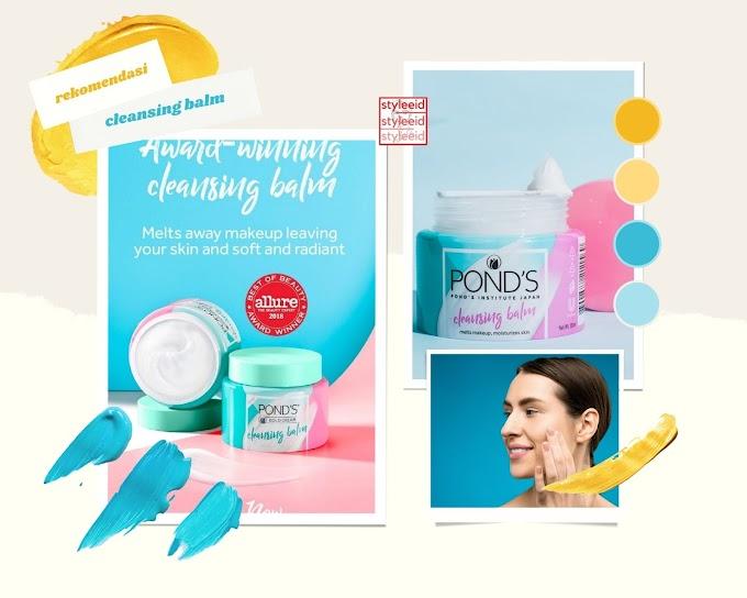 Pond's Makeup Remover Cleansing Balm, Satu Langkah Membersihkan dan Menutrisi Kulit Wajah