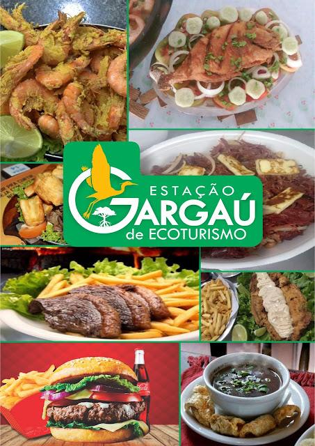 LOGO E CARDÁPIO PARA EMPRESA DE GARGAÚ-SFI-RJ