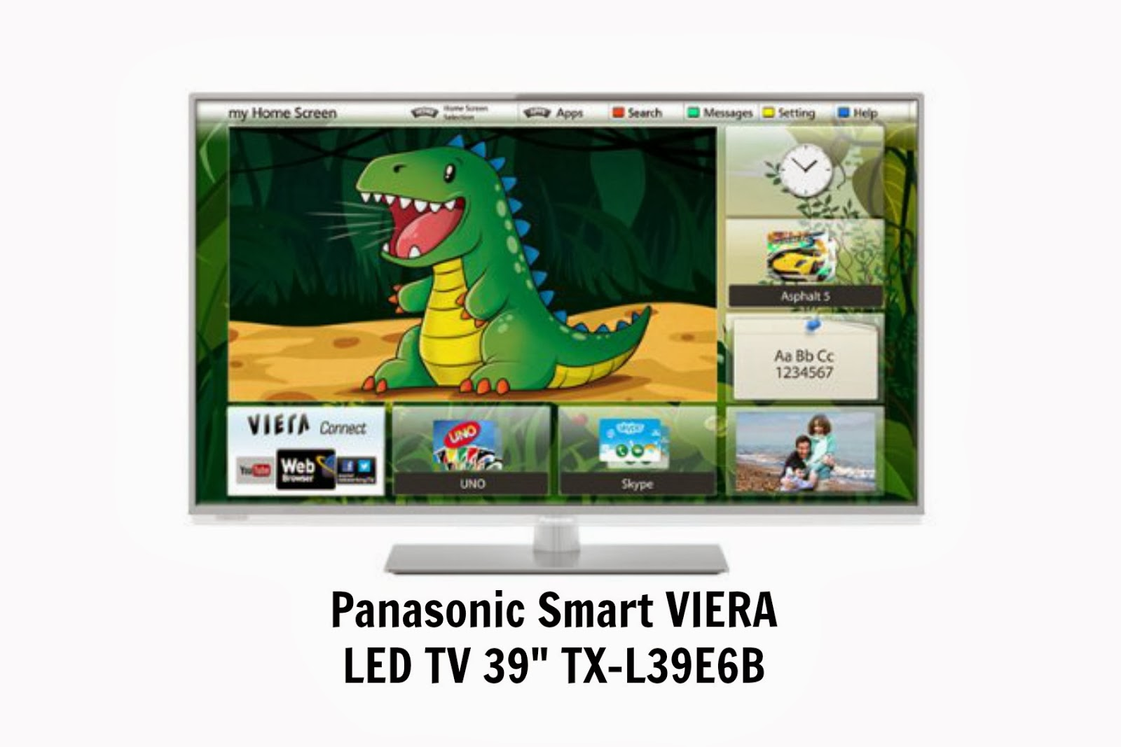 "Panasonic Smart VIERA LED TV 39"" TX-L39E6B {#Review}"
