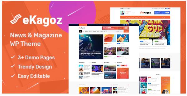 eKagoz Theme WordPress SEO Mobile Friendly