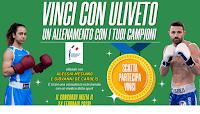 Logo Concorso ''Uliveto per lo sport'': vinci gratis un allenamento con i campioni del pugilato