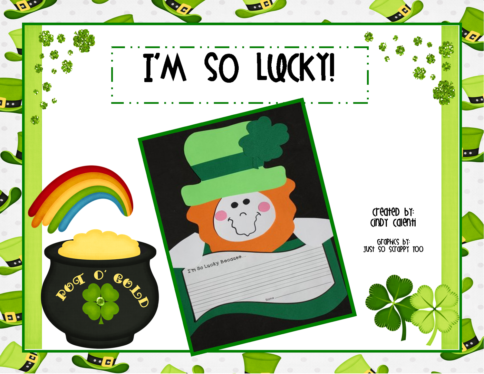 St. Patrick's Day Unit Activities, Printables, Lessons, and Teaching Ideas