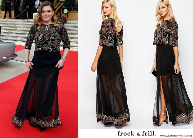 Camille Gottlieb wore Frock and Frill Embellished Tiered Maxi Dress