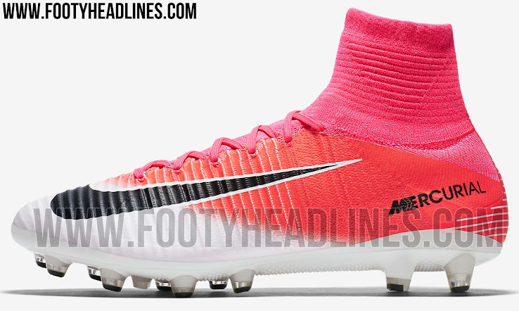 newest a700f 844b9 Pink Nike Mercurial Superfly 2017 Boots Released