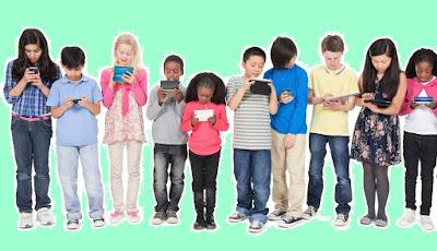 Ayo Batasi Penggunaan Teknologi Pada Anak
