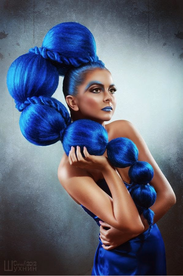 Avant Garde Hair Innovative Experimental