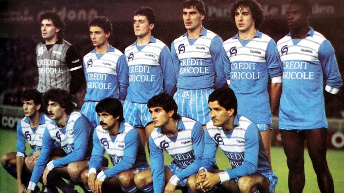 A.J AUXERRE 1984-85.
