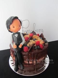 bolo aniversário chocolate macedo cavaleiros