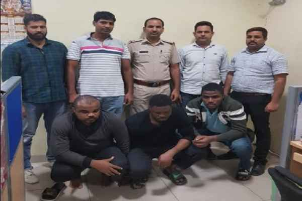 faridabad-cyber-cell-arrested-nigeria-gang-blackmail-using-facebook
