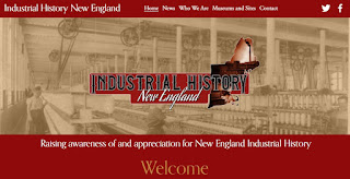 new webpage -> Industrial History New England