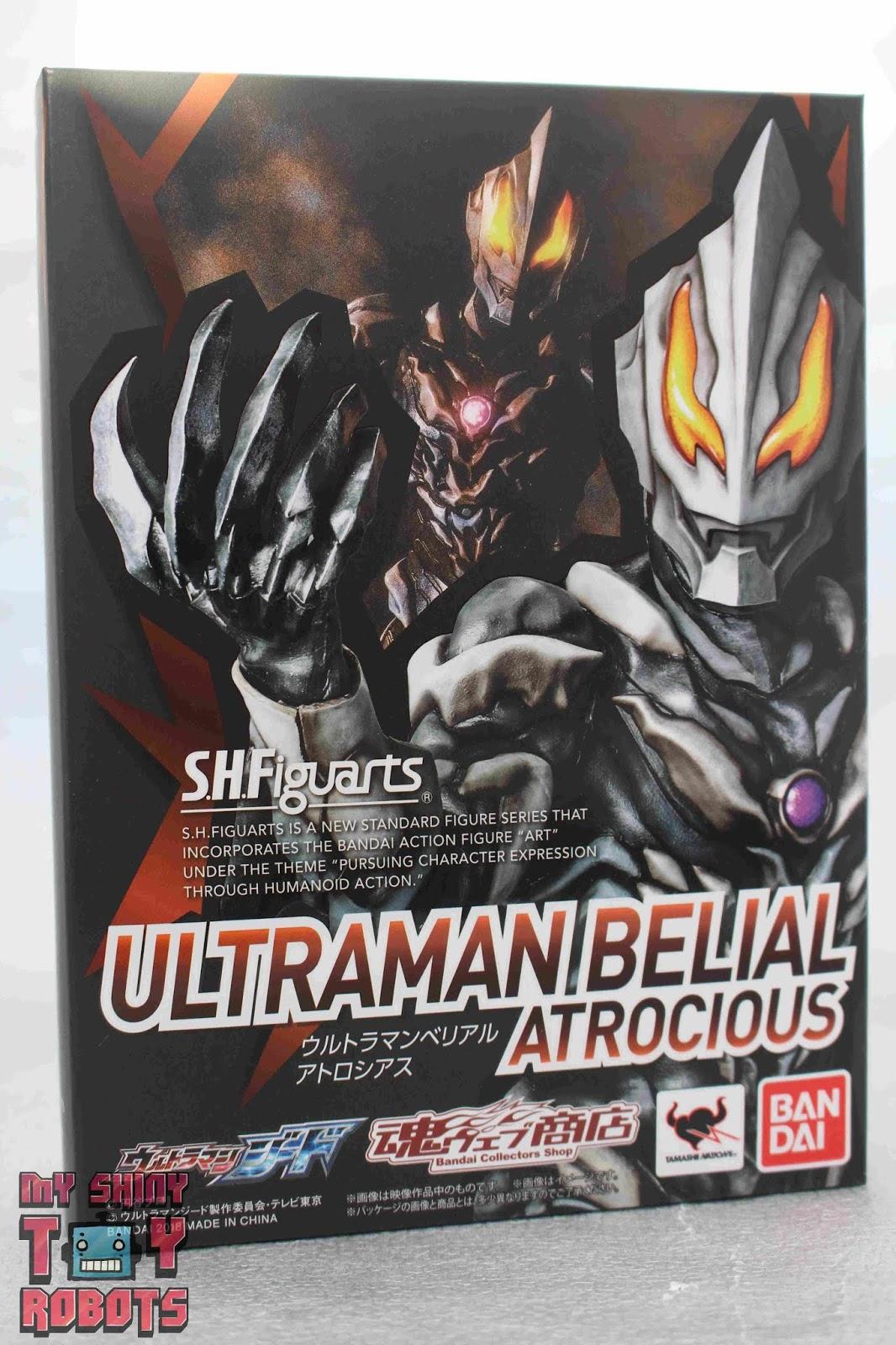 Figuarts Ultraman Belial Ultraman Series Action Figure Bandai Tamashii Nations Tamashii Nations Bandai S.H