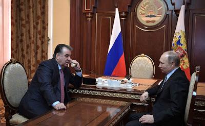 Emomali Rahmon, Vladimir Putin, telephone conference call.