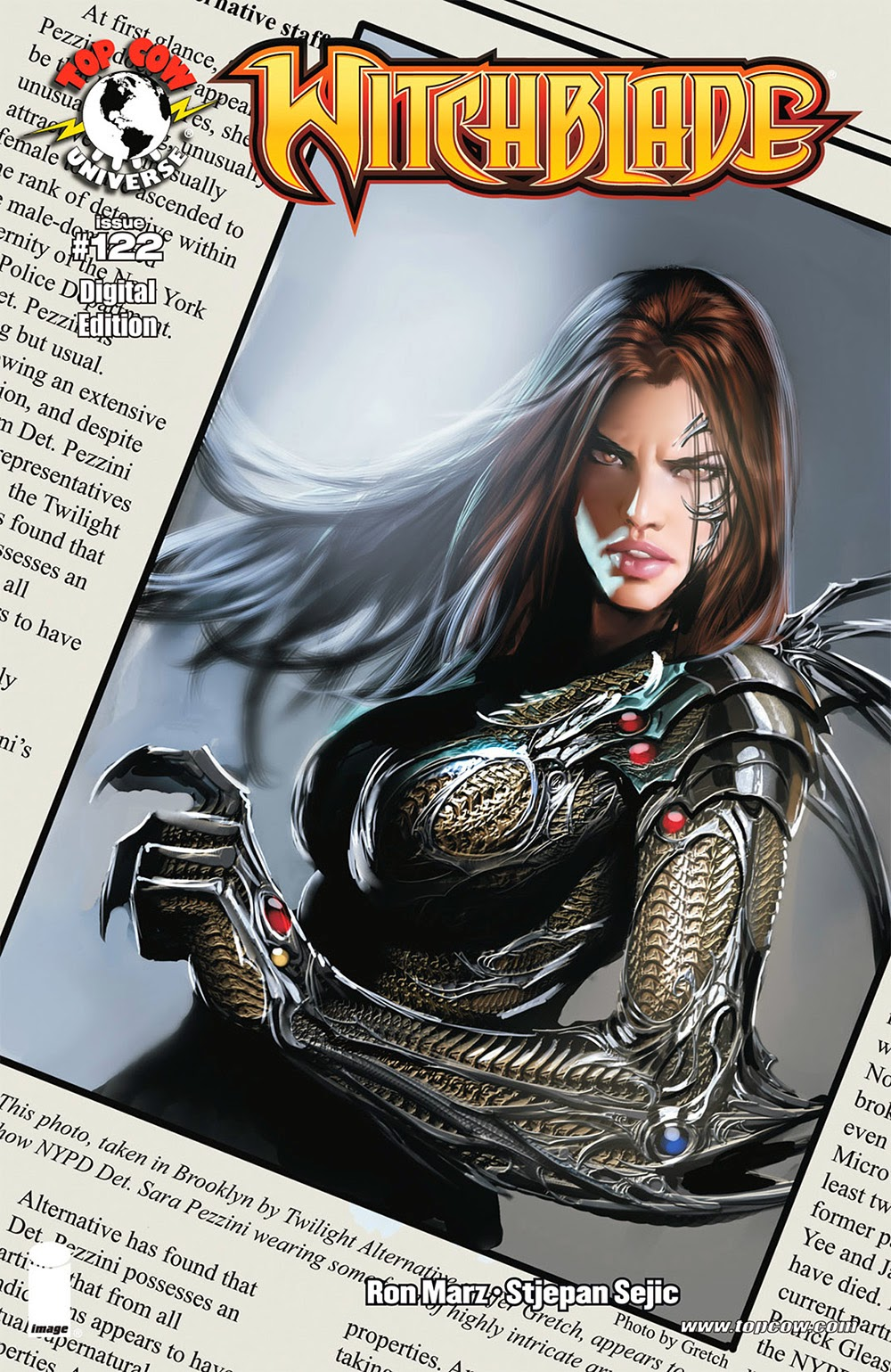 Witchblade 122 (2008) …………………………  … | Viewcomic reading