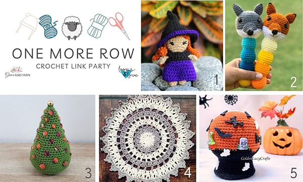 One More Row - Free Crochet Link Party #35