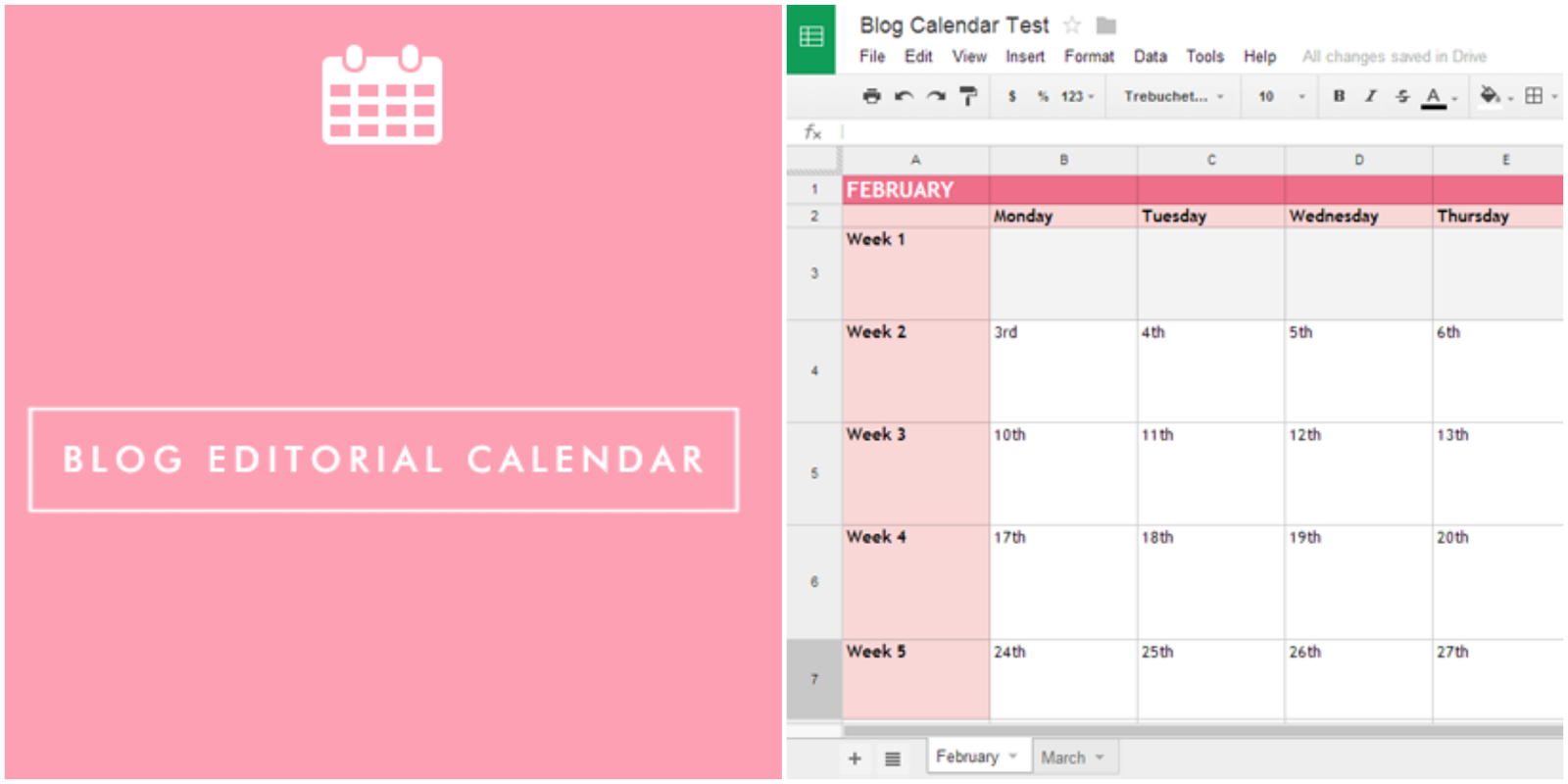 Blog Editorial Calendar How To