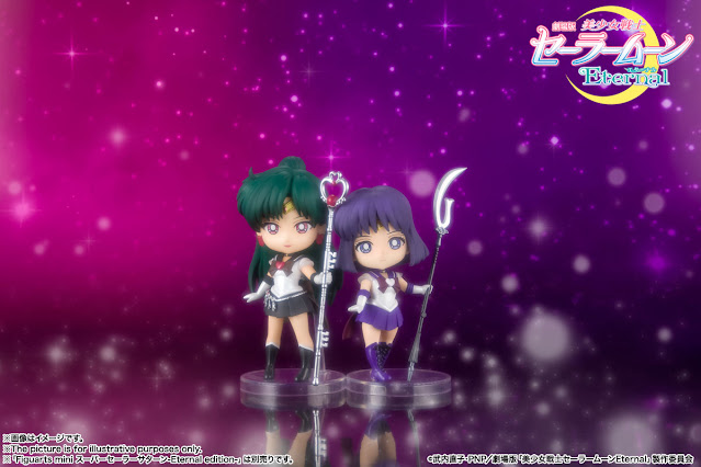 Figuarts Mini de Sailor Pluto y Sailor Saturn - Tamashii Nations