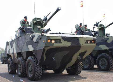 Gambar kendaraan militer panser anoa
