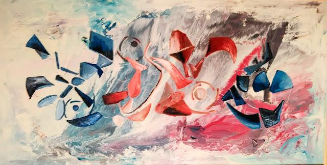 Contrasti/Nel blu d Barbara Stamegna