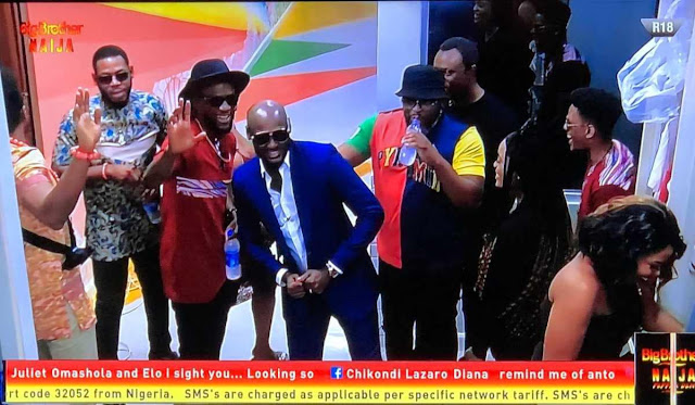 #BBNaija 2019: 2Face Idibia celebrates birthday with housemates - Video