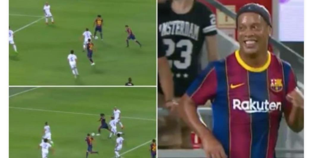 Tsoffin yan wasan Real Madrid sun doke tsoffin yan wasan Barca da ci 3-2