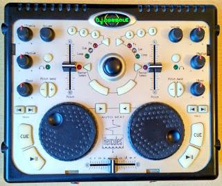 Controlador mezclador DJ