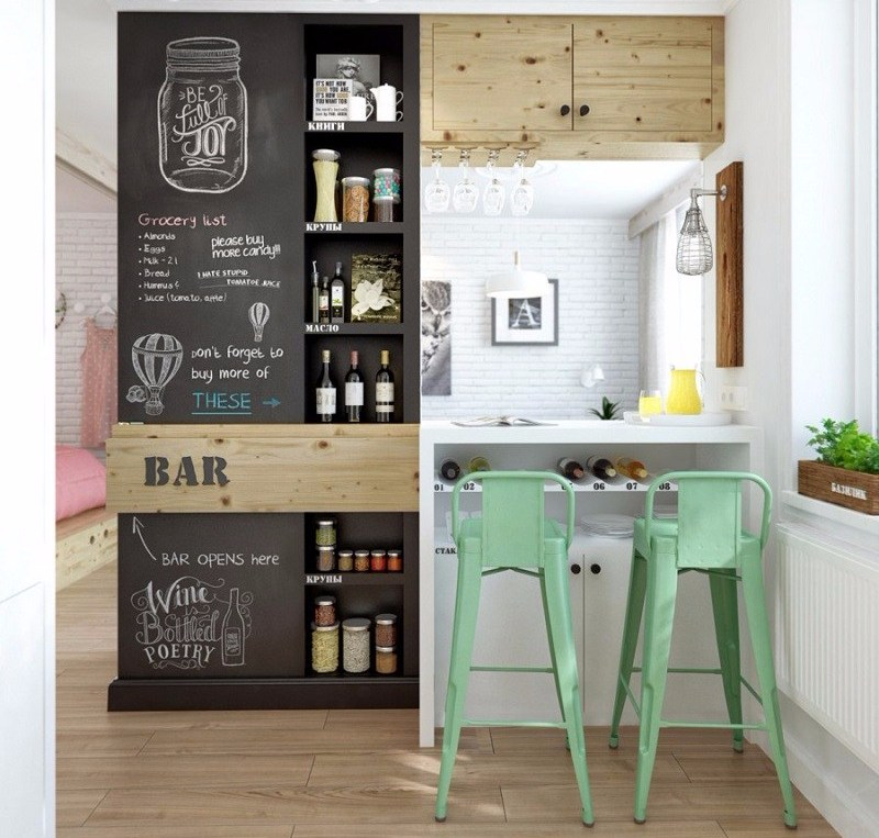 Mini Bar Kitchen Pastelpinterest.com
