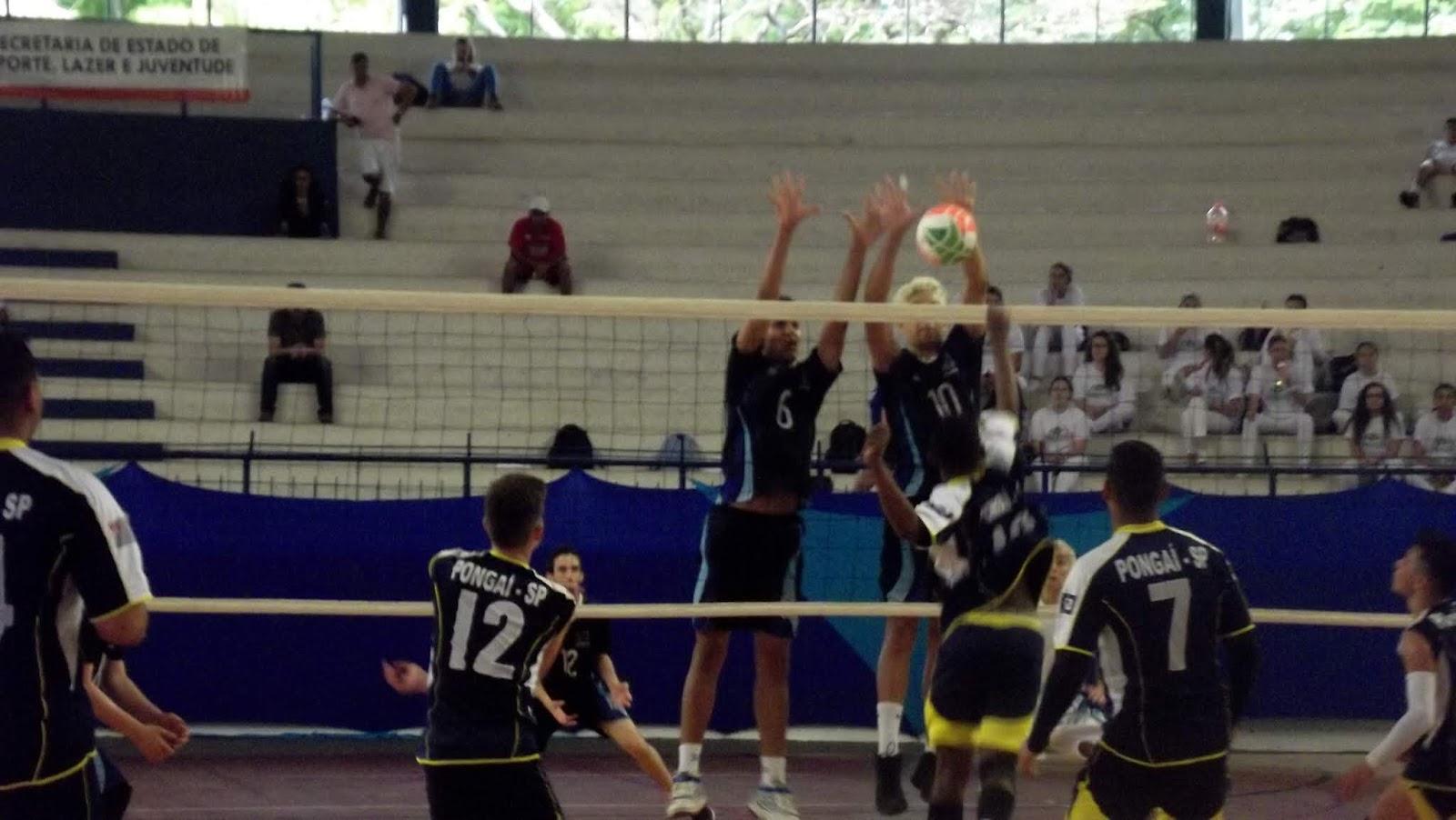c43e98b19af43 O vôlei masculino de Jundiaí está classificado para os playoffs dos Jogos  Infantis do estado de São Paulo. Em partida