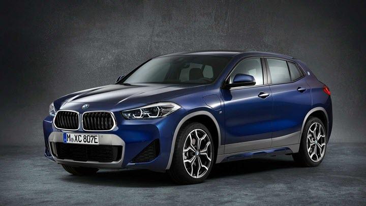 BMW X2 2021 tung phiên bản PHEV công suất 217 mã lực