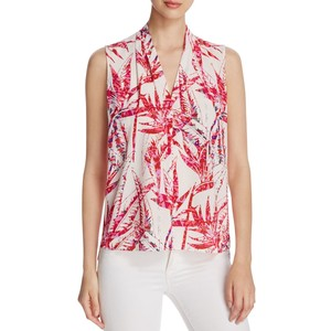 T Tahari Edie palm print blouse, EUR 74.66 from Bloomingdales