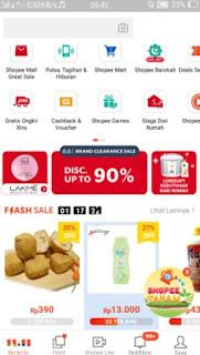 belanja online shopee - pilih produk