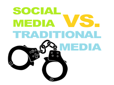 social media vs traditional media