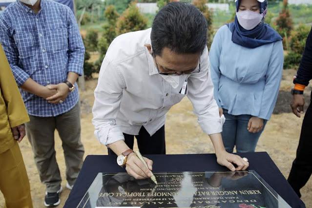 Gelar Silaturahmi dengan Masyarakat Kampung Terih Nongsa , Amsakar Akan Memperjuangkan Aspirasi Warga