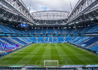 Contoh Gambar Lapangan Sepak Bola