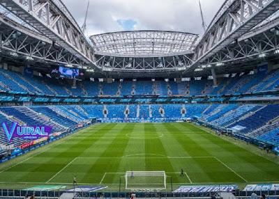 Contoh Foto Lapangan Sepak Bola