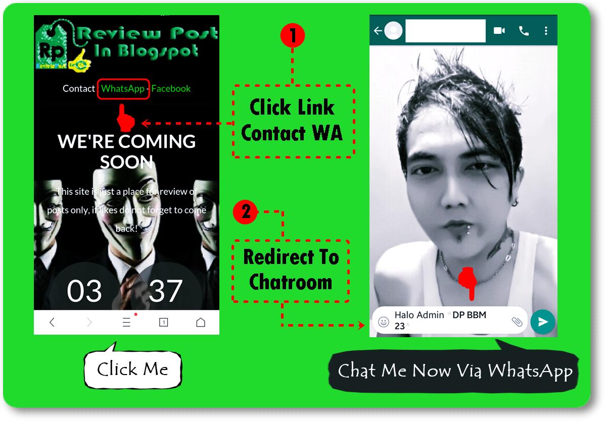 Cara Membuat Link Kontak WhatsApp Langsung Menuju Ruang Obrolan