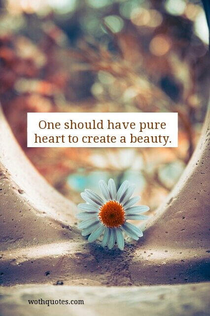 Beauty of The Heart Quotes