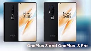 OnePlus 8 Pro and OnePlus 8