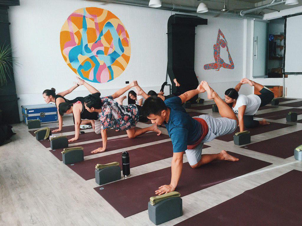 Kfit Gym Yoga glass