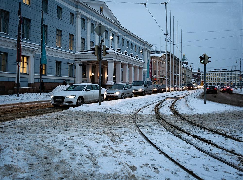 Helsinki, talvi