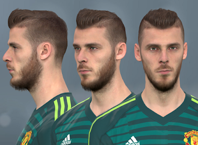 PES 2017 Faces David De Gea by WER Facemaker