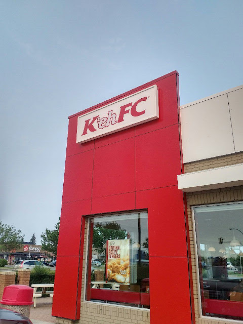 In honour of Canada's 150th birthday, KFC Canada is officially changing its name to K'ehFC.
