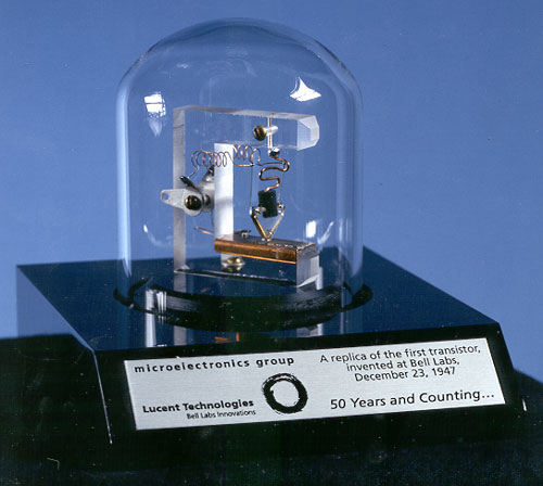 first transistor invented by john bardeen physics