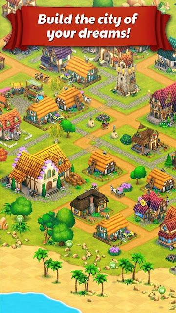 Game Membangun Kota Android Town Village MOD APK