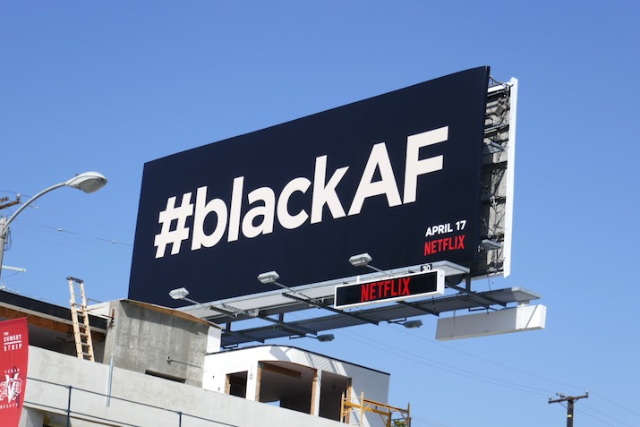 BlackAF Netflix series billboard