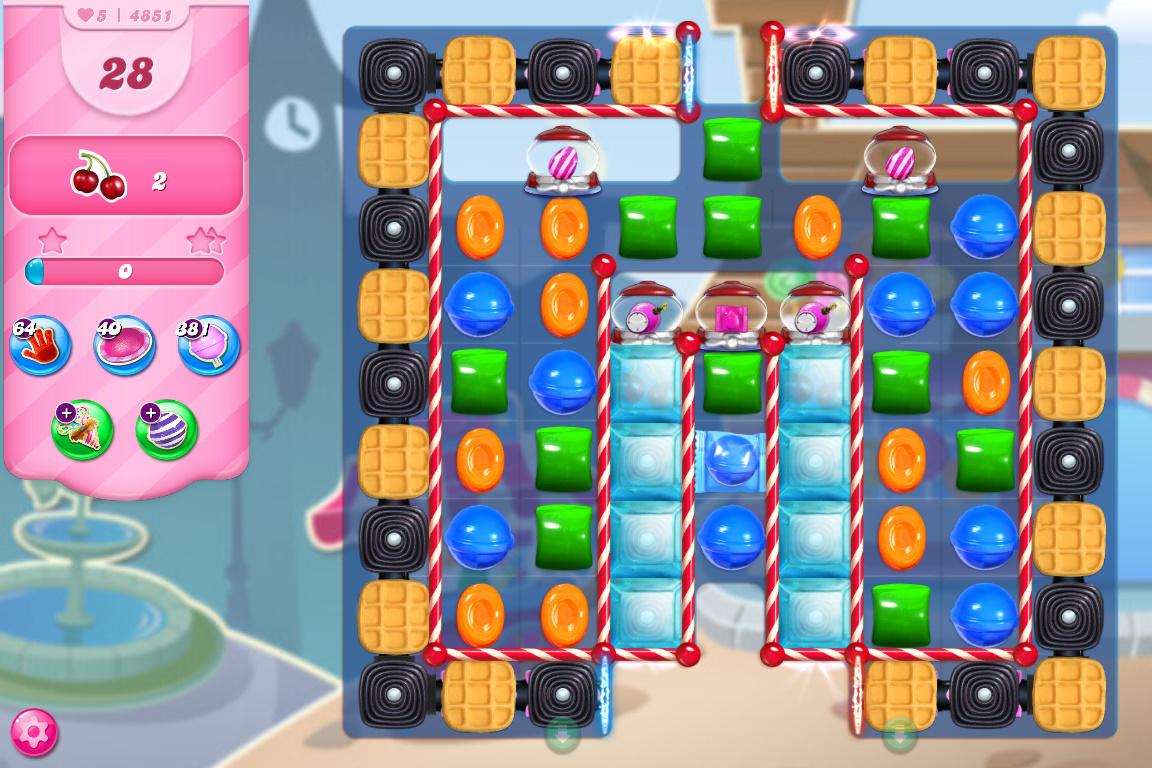 Candy Crush Saga level 4851