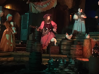 Captain Redd Pirates of the Caribbean Ride