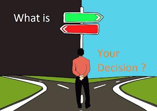 Motivasi Sukses - Tidak Ada Yang Salah Dengan Keputusan Anda